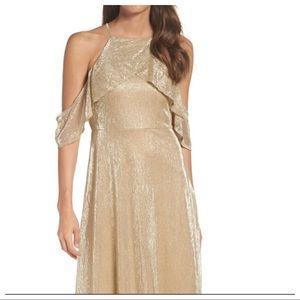 Gold LuLu's Dress NWT